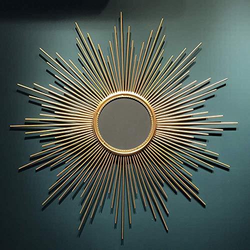 WUSTEGCCF Espejo Circular BañO Colgante,Espejo Decorativo D