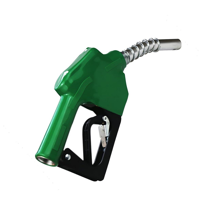 苦しめる祝福移植全5色 給油ガン 燃料 ディーゼル用 自動オフオイル ブラック - グリーン