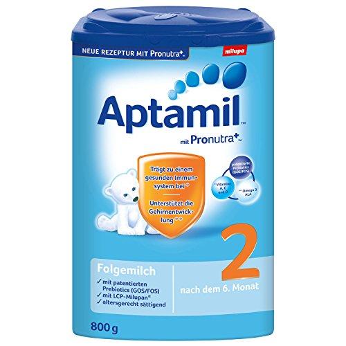 Aptamil 2 opvolgmelk met Pronutra, pak van 6 (6 x 800 g)