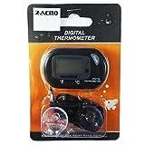 Zacro LCD Digitales Wasser Thermometer für Terrarium,Aquarium und Vivarium - 6