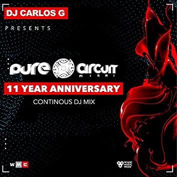 11 Years Anniversary - CARLOS G CONTINUOUS DJ MIX