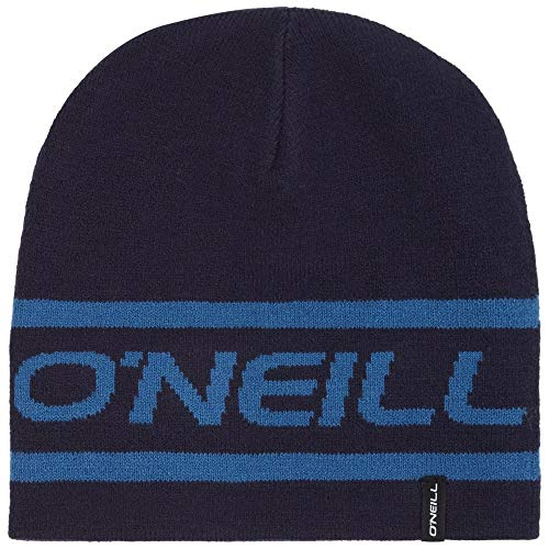 O'NEILL BM Sombrero De Gorro Logotipo Reversible, Azul Marino Un Tamaño