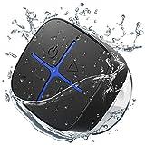 Onforu Altavoz Portátil Bluetooth Ducha, Speaker Inalámbrico con Sonido Estéreo, Bluetooth 5.0 y 10 Horas de Reproducción IP65 Impemeable, Mini Altavoz para Deporte Piscina Playa Baño Hogar