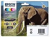 Epson C13T24284011 Set di 6 Cartucce d'Inchiostro, Multicolore