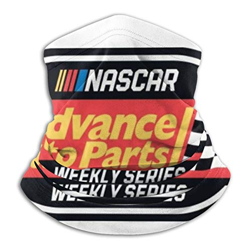 Advance Auto Parts To Sponsor Nascar Weekly Series Winter Face Mask & Neck Gaiter - Cold Weather Half Balaclava Style Seamless Ski Tube For Men & Women - Windproof Face WarmerCover For Ru