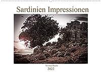 Sardinien Impressionen (Wandkalender 2022 DIN A2 quer): Sardinien in schwarz-weiss (Monatskalender, 14 Seiten )