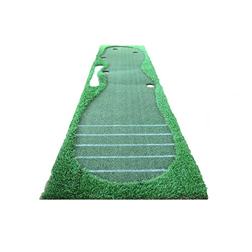 Review ChenCheng Golf Indoor Practice Mat Putt Practice Mat 2 Color Optional Outdoor Sport (Color : ...