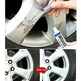 Coersd Repair Pen Aluminum Alloy Tire Wheel Paint Wheel Pen