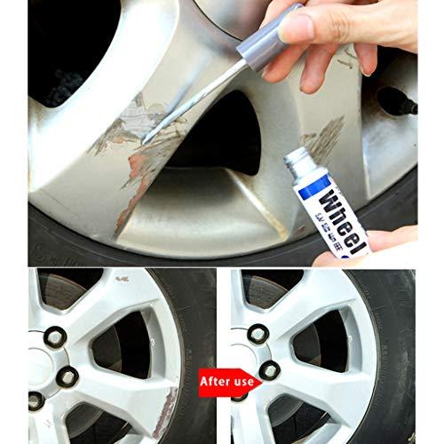 SUJING Automotive High Performance Wheel Paint, Car Wheel Scratch Repair Pen,Car Tyre Tire Pen Marker