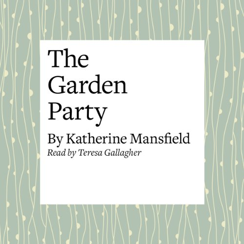 The Garden Party audiobook cover art