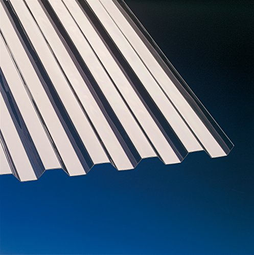PVC Wellplatten Trapez 70/18 bronce 2000 x 900 mm Sondergröße Typ 200-09