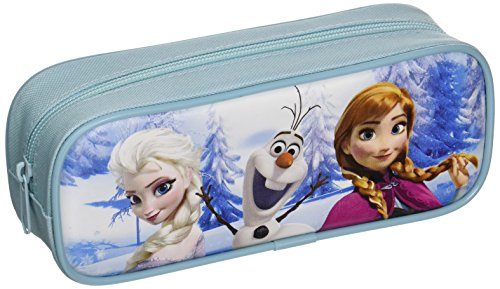 Disney Frozen Pencil Case with Stationery Set - Light Blue