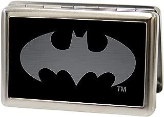 Buckle-Down Metal Wallet - Batman Reverse Brushed