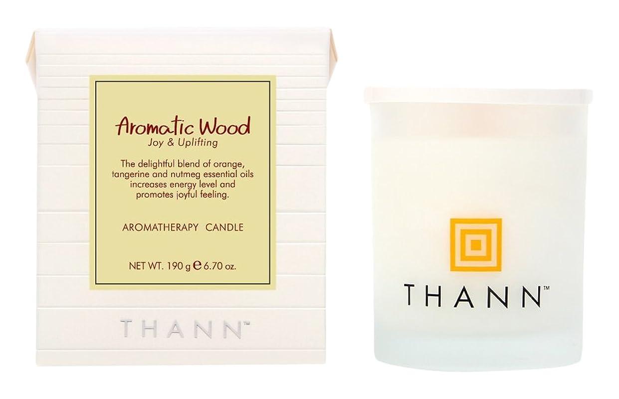 盆地実際のバルーンタン アロマティックキャンドル AW(Aromatic Wood)