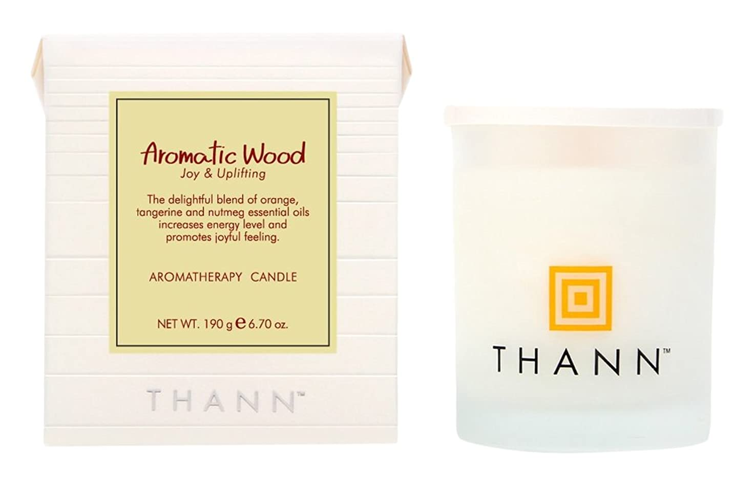 反抗宅配便スイングタン アロマティックキャンドル AW(Aromatic Wood)