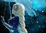 XYDH Puzzle De Madera De 1000 Piezas para Adultos,Anime Destino/Gran Orden Juegos Familiares,Rompecabezas De Madera para Aliviar EstréS Juego Intelectual/75 * 50CM