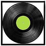 Retro Vinyl Record Album Photo Picture Frame - Black