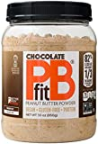 PBfit All-Natural Chocolate Peanut Butter Powder, Powdered Peanut Spread from Real Roasted Pressed...