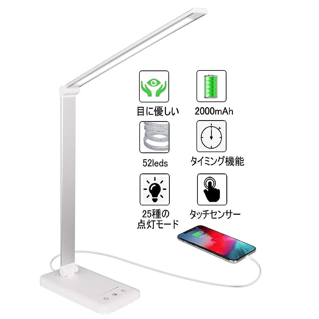 トーナメント富鉄道駅Rakuminyou デスクライト 多角度調整可能 タッチセンサー5段階調光5段階調色500ルーメン (シルバー)