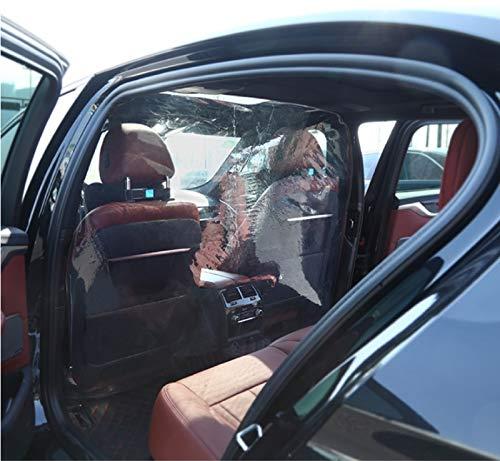 Taxi transparent Isolationsfolie, Spuckschutz Trennwand Für Auto, Autoschutzfilm Isolationsfilm Autoschutz für Fahrer Tropfschutzfolie, Schutzfolie, Fahrerhaus, Vermeidung von Kreuzinfektionen