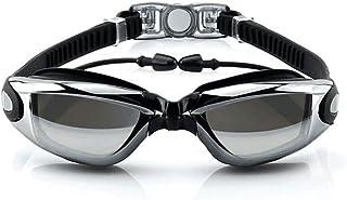 U-HOOME Waterproof Swim Goggles Swimming Pool Glasses Strap Clear Lens for adult Men Women Kids Youth No Leaking anti Fog ...