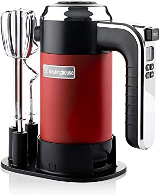 Westinghouse Retro Hand Mixer (RED)