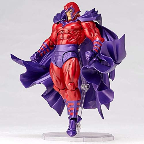 zxwd Toy Model Yamaguchi Comic Anime Series Magnetic King Magneto Characters Decoration/Gifts/Collections/Crafts/Christmas (high About 16CM)