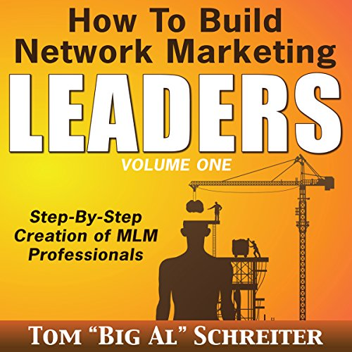 How to Build Network Marketing Leaders audiobook cover art