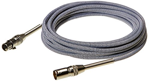 Amazon Basics 3 Pin Microphone Cable - Pack of 5, 25 Feet, Silver