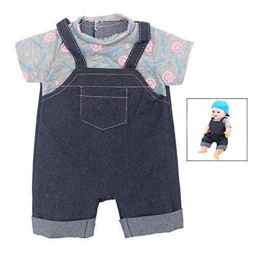 iPobie Ropa de Muñecas para Bebés, Ropa de Muñecas para New Born Baby Doll, Accesorio para muñecas Juego de ropita para muñeca (40-45 cm)