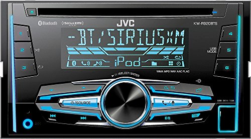 JVC KW-R920BTS Built-in Bluetooth/Satellite Radio-Ready in-Dash Receiver with Remote
