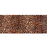 Hongma Polyester Leinen Stoff Leopard Muster 90cm*110cm/