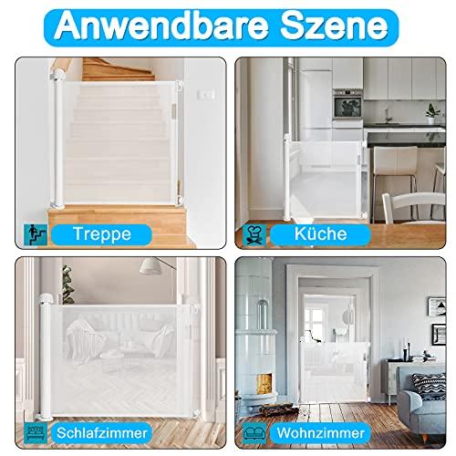 HENGMEI Barreras para puertas y escaleras