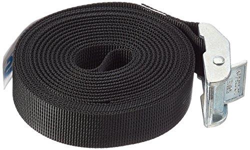 Relags spanband met gegoten zink gesp 5 m zonder onderlaag riem, zwart