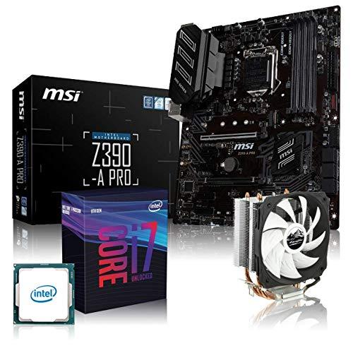 Memory PC Ordenador de Kit Bundle i5–9600K 6x 3.7GHz, MSI Z390de a Pro, Alpenföhn enfriador Ben Nevis Super 64GB / Z390-A Intel Coffee Lake i7-9700K