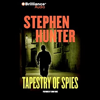 Tapestry of Spies audiobook cover art