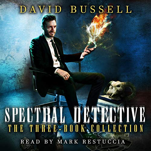 Spectral Detective audiobook cover art