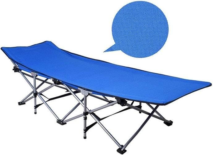 RNGNBKLS Lit De Camp Camping Bed Portable avec Pliable Durable Stable - L'extérieur - Couchage - Costauds - Alliage D'alluminiumpour - Ultraléger