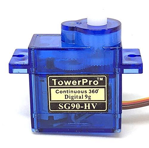 SG90-HV 360度旋回タイプ デジタル・マイクロサーボ