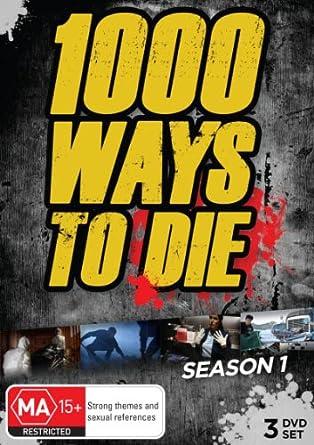 Amazon Com 1000 Ways To Die Season 1 3 Dvd Set One Thousand Ways To Die Season One Non Usa Format Pal Reg 0 Import Australia Ron Perlman Alisdair
