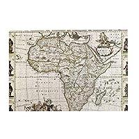 パズルAfrica old map 500ピース 木製パズルミニ 大人の減圧 絶妙な誕生日プレゼント