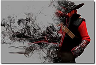 Lawrence Painting Bloodborne Art Canvas Poster Print Game Picture For Living Room Decoration 12