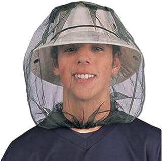 Milisten 3Pcs Moskitonetz Kopf Gesicht Nackenschutz Netting Moskito Insektenschutz Anti-Biss-Netz f/ür Outdoor-Angeln
