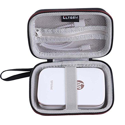 LTGEM Tasche Hülle für HP Sprocket Portable Fotodrucker Shocking Proof Reisetasche