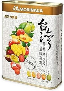 《台湾森永》多樂福水果糖 (台灣特産水果)ミックスドロップ(台湾特産フルーツ缶) 《台湾 お土産》 [並行輸入品]