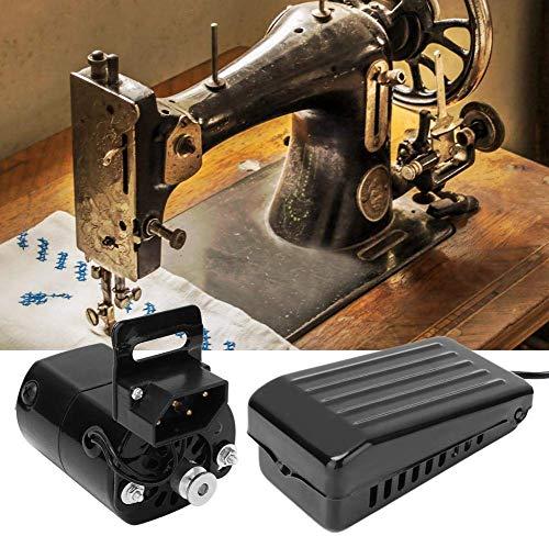 180W Máquina de Coser Motor Pedal de Coser Variable Controlador de Velocidad Máquina de Coser Interruptor de pie Piezas Accesorios para la máquina de Coser con máquina de Coser Pedal de pie(220v)