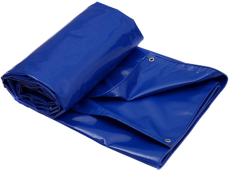 SSYBDUAN Plane, Schatten Schatten Schatten blau Wasserdichte Plane Bodenbelag Camping, Angeln, Gartenarbeit, Dicke 0,9 mm, (2 m × 3 m) (Farbe   Blau, größe   3m × 4m) B07JZ5HS44  Preisrotuktion c6e3a4