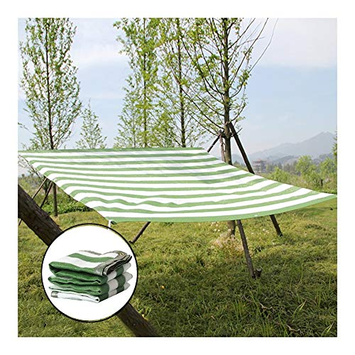 JIANFEI Fence Privacy Screen Outdoor Garden, 6-pin Edging Encryption Insulation Balcony Sunscreen Patio Shade Net, 56 Sizes Customizable (Color : Green, Size : 1.5x12m)