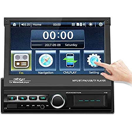 Podofo 1 Din Autoradio 7 Zoll Bluetooth Auto Audio Elektronik