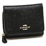 コーチ アウトレット 三つ折り財布 ミニ財布 レディース COACH F37968 F87760 F2923 (1)IMBLK ブラック ブラック 並行輸入品